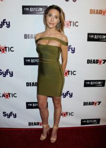 "NO JUST JARED USAGE SyFy Movie Premiere of Nick Carter's ""Dead 7"" Pictured: Chloe Rose Lattanzi Ref: SPL1256316 020416 Picture by: Splash News Splash News and Pictures Los Angeles:310-821-2666 New York: 212-619-2666 London: 870-934-2666 photodesk@splashnews.com"