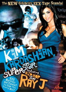This is the front cover of the sex tape starring Paris Hilton's best friend Kim Kardashian. Stunning brunette Kim insisted she wouldn't sell an X-rated video she made with then-boyfriend Ray J because she didn't need the money. But now a company has bought the tape - titled 'Kim Kardashian Superstar' - from an anonymous source for $1 million - and will put it on sale later this month. The tape shows the fashion retailer and R'n'B crooner Ray J - singer Brandy's younger brother - romping when they were an item several years ago. It is also said to feature several explicit activities. Ref: GWNY 070207 B Splash News and Pictures Los Angeles:310-821-2666 New York:212-619-2666 London:207-107-2666 photodesk@splashnews.com www.splashnews.com
