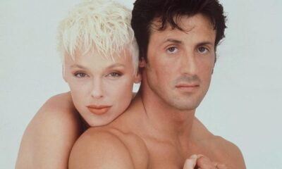 SYLVESTER STALLONE AND BRIGITTE NIELSEN - 1987...Mandatory Credit: Photo By STAR PRESS / REX FEATURES SYLVESTER STALLONE AND BRIGITTE NIELSEN SYLVESTER STALLONE AND BRIGITTE NIELSEN - 1987 HUSBAND WIFE