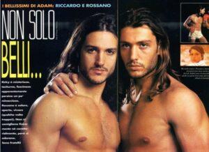 una-foto-di-rossano-e-riccardo-rubicondi-apparsa-sul-magazine-gay-adam-negli-anni-90-129140