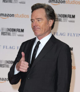 The BFI LFF International Premiere of 'Last Flag Flying' held at the Odeon Leicester Square - Arrivals Featuring: Bryan Cranston Where: London, United Kingdom When: 08 Oct 2017 Credit: Mario Mitsis/WENN.com