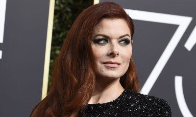 Mandatory Credit: Photo by Jordan Strauss/Invision/AP/REX/Shutterstock (9309494an) Debra Messing arrives at the 75th annual Golden Globe Awards at the Beverly Hilton Hotel, in Beverly Hills, Calif 75th Annual Golden Globe Awards - Arrivals, Beverly Hills, USA - 07 Jan 2018
