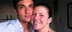 Marco Parolo e sua moglie