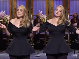 SNL': Adele jokes about her weight loss in monologue - Insider