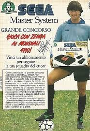 X0452 Sega Master System - Walter Zenga - Pubblicità 1989 - Vintage  advertising | eBay