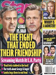 George Clooney, Brad Pitt Haven't Spoken In Years After Public Argument? -  Gossip Cop